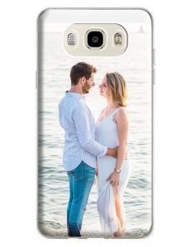 Coque-personnalisée Samsung-Galaxy-J5-2016-souple-Noir