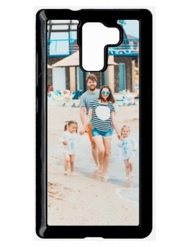 Coque Huawei Honor 7 à Personnaliser- Contour Rigide Noir