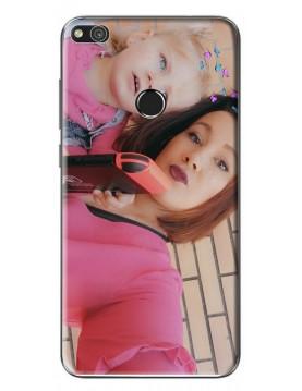 Coque Huawei P8 Lite 2017  à Personnaliser- Contour Souple Noir