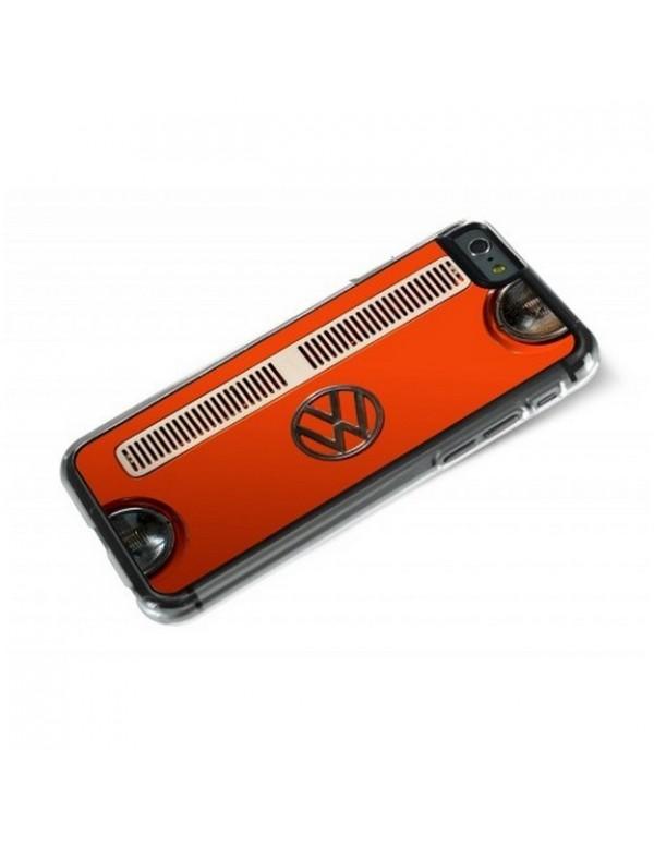 Coque iPhone 6 Plus 6S Plus - Calandre Combi VW Orange