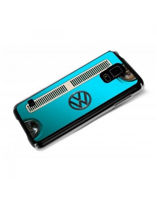 Coque Samsung Galaxy S5 Calandre Combi VW bleu