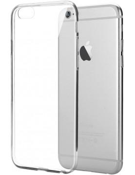 Coque en silicone ultra transparente pour iPhone 6/6S
