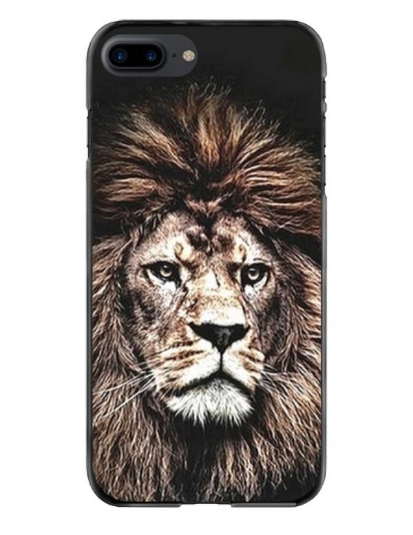 Coque de protection pour iPhone 7 Plus/8 Plus King Lion