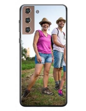 Samsung Galaxy S21+ - Coque personnalisable - Souple Noir
