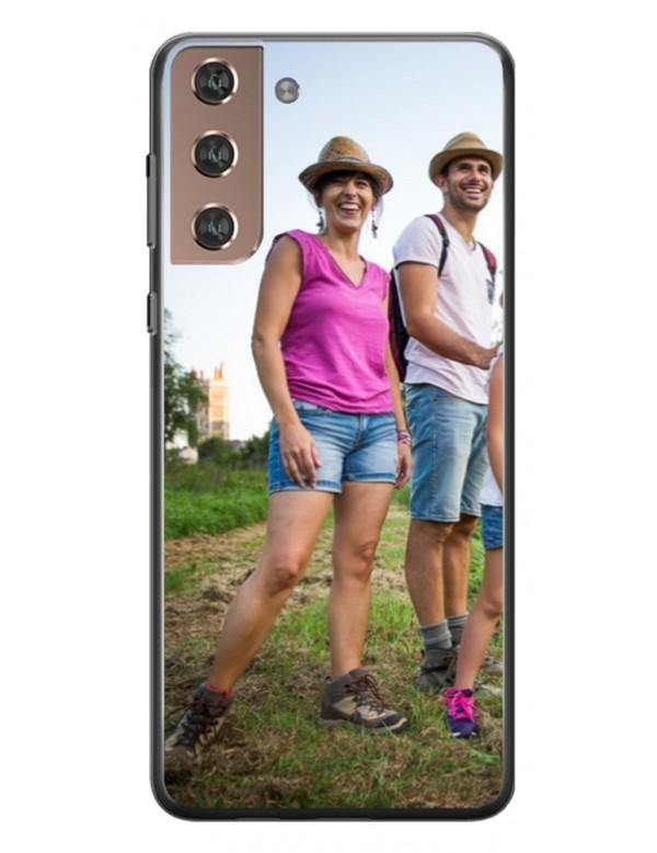 Samsung Galaxy S21 Ultra - Coque personnalisable - Souple Noir
