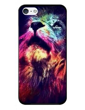 Coque de protection pour iPhone 4/4S - Tête de lion