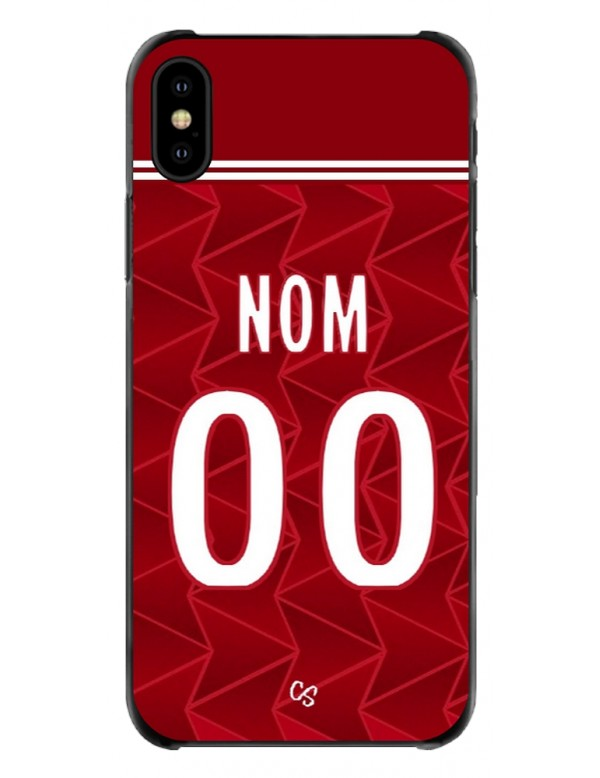 COQUE MAILLOT FOOT - ARSENAL DOMICILE 2020/2021 - PERSONNALISABLE