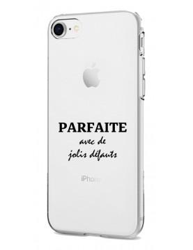 COQUE EN SILICONE TRANSPARENTE IPHONE 5/5S/SE 2016 - PARFAITE AVEC DE JOLIS DEFAUTS