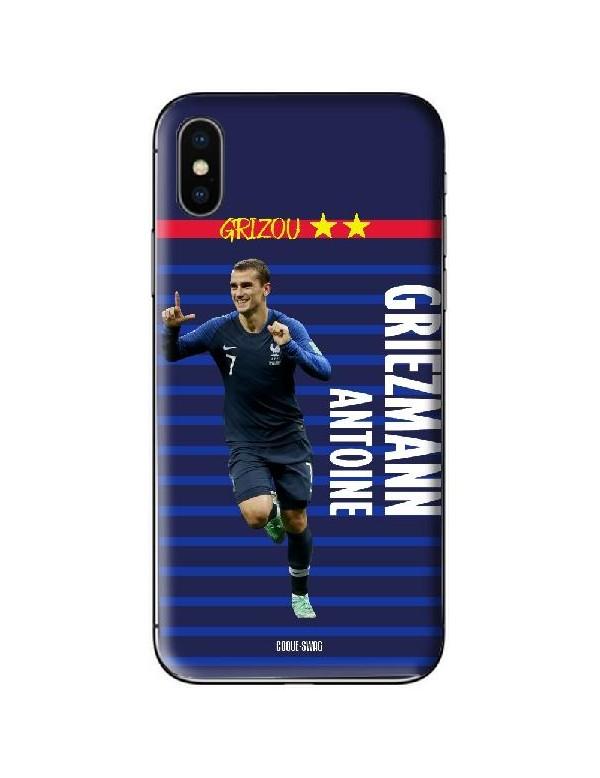 Coque football joueur Antoine Griezmann Equipe de France - Euro 2020