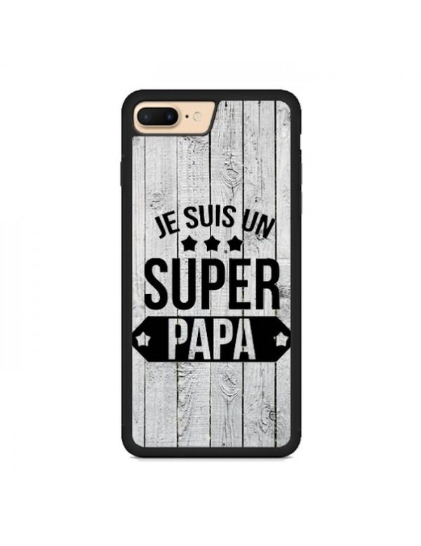 Coque souple pour iPhone 7 PLUS/8 PLUS - Super papa