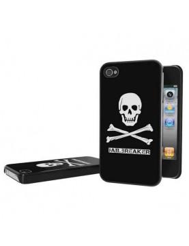 Coque rigide iPhone 4/4S - Tête de mort Jailbreaker