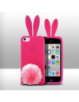 Coque-Silicone-iPhone-4-4s-Elemento-Rbito-Rose