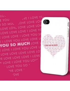 Coque-Rigide-iPhone-4-4s-Texte-Love-Coeur