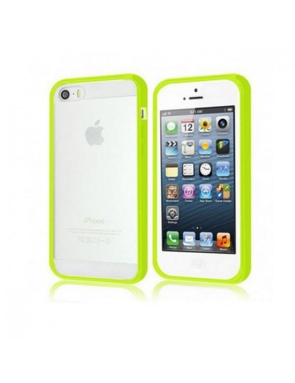 Coque iPhone 4/4S en silicone Vert fluo