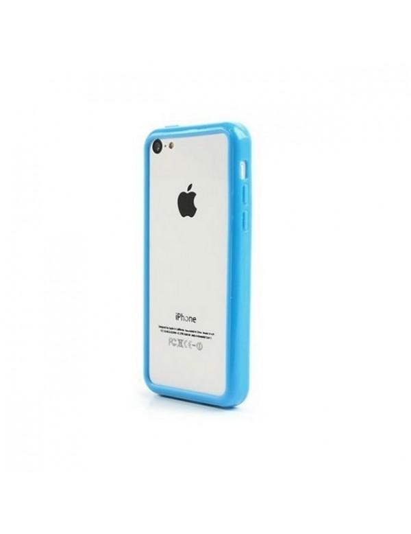 Bumper iPhone 4/4S en silicone Bleu