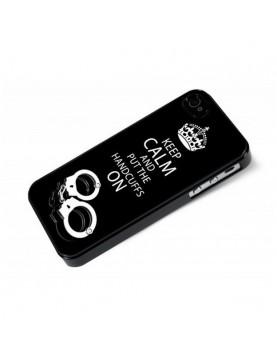 Coque rigide iPhone 4-4S noir - 50 nuances de Grey