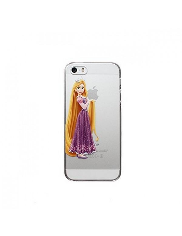 Coque rigide translucide iPhone 4/4S - Princesse Raiponce