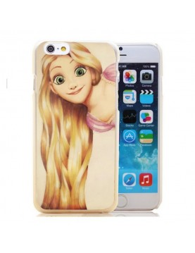 Coque- rigide- iPhone- 4/4S - Princesse -Raiponce