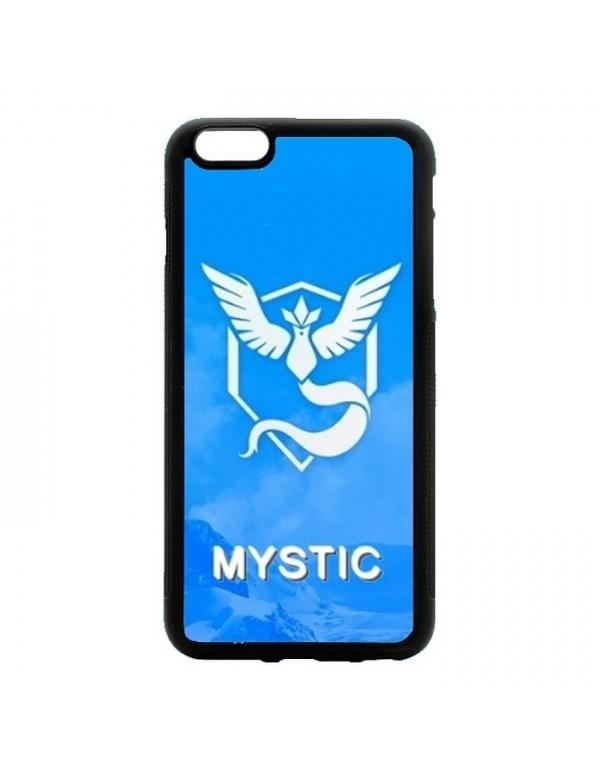 Coque rigide iPhone 4/4S - Pokemon go team mystic sagesse bleu