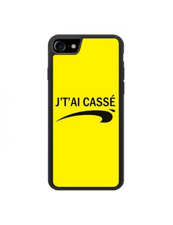 """Coque iPhone 7/8 """" J' t'ai cassé!"""""""