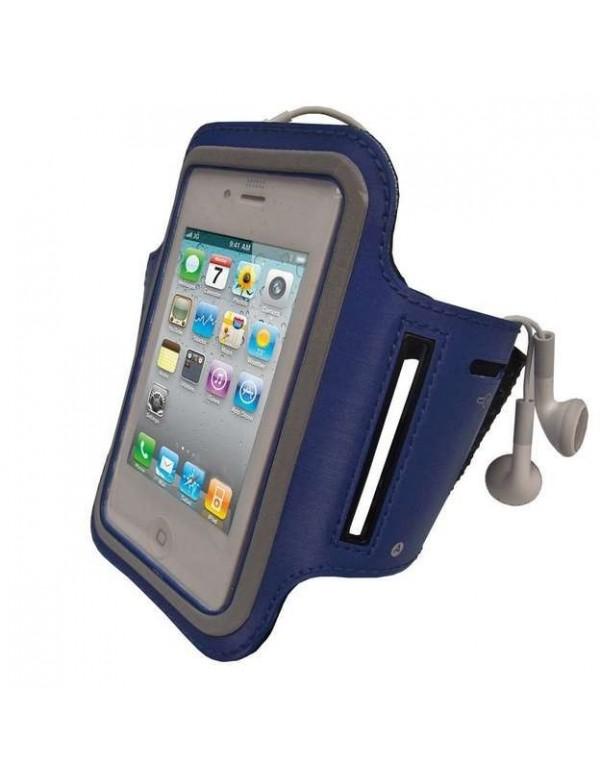 Brassard pour iPhone 4/ 4S - Couleur bleu