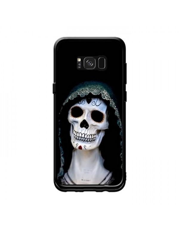 Coque rigide Samsung Galaxy S8 Plus - Tête de mort de sorcière