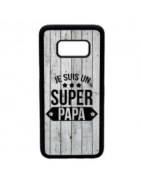 Coque rigide Samsung Galaxy S8 - Super papa