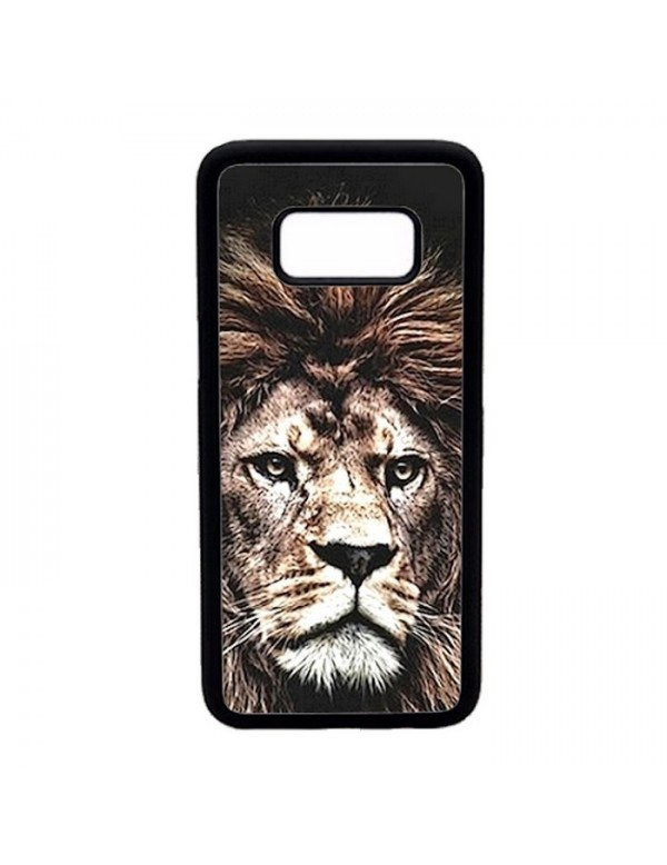 Coque rigide Samsung Galaxy S8 - The king lion