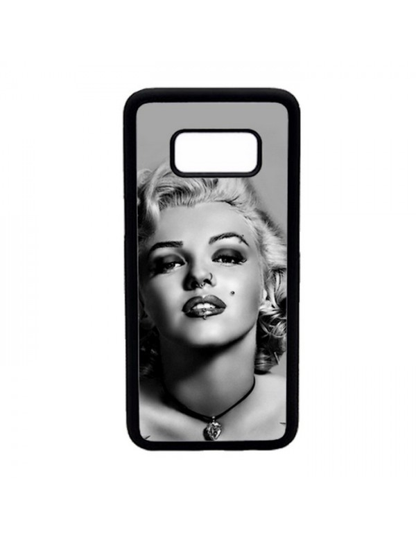 Coque rigide Samsung Galaxy S8 - Marilyn Monroe Noir et blanc